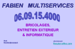 logo, Fabien, multiservices