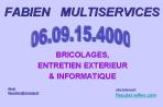 logo, Fabien, multiservices